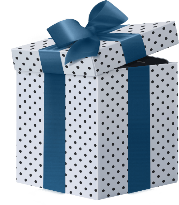 ilustracja ozdobne pudełka i papiery